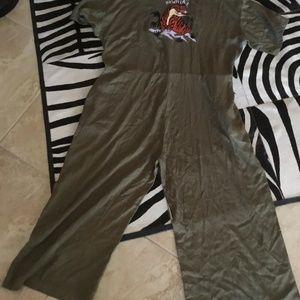 Lazy Oaf Jumpsuit size 18 New